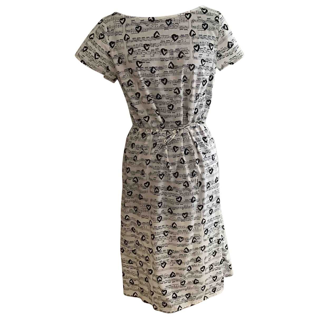 Agnes B. \N Kleid in  Beige Baumwolle
