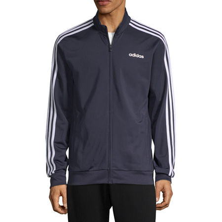 adidas Mens Tricot Track Jacket, Small , Blue