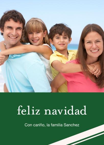 Tarjetas de Navidad Mail-for-Me Premium 5x7 Folded Card , Card & Stationery -Feliz Navidad