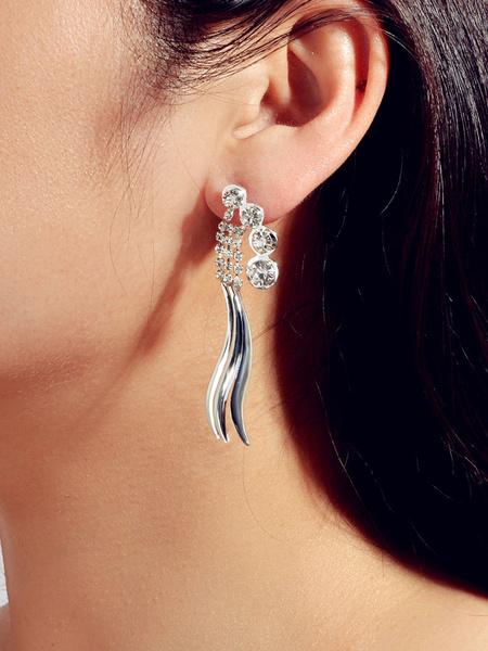 Milanoo Goldfish Earrings Women Jewelry Statement Earrings