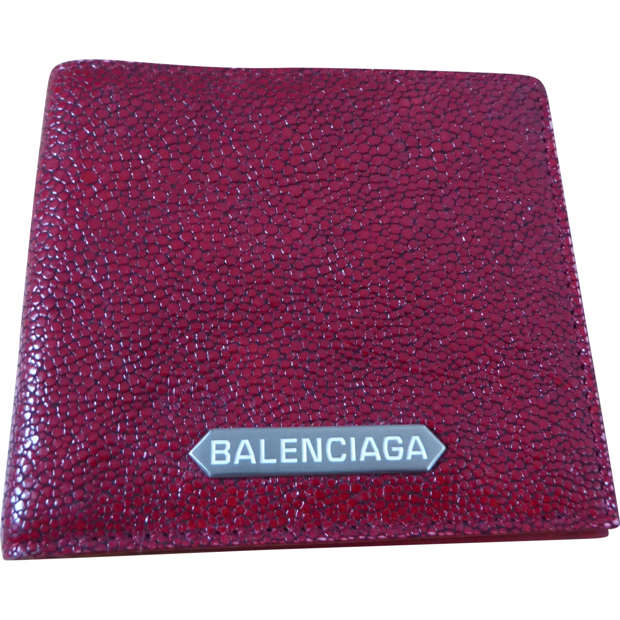 Balenciaga \N Kleinlederwaren in  Rot Rochen