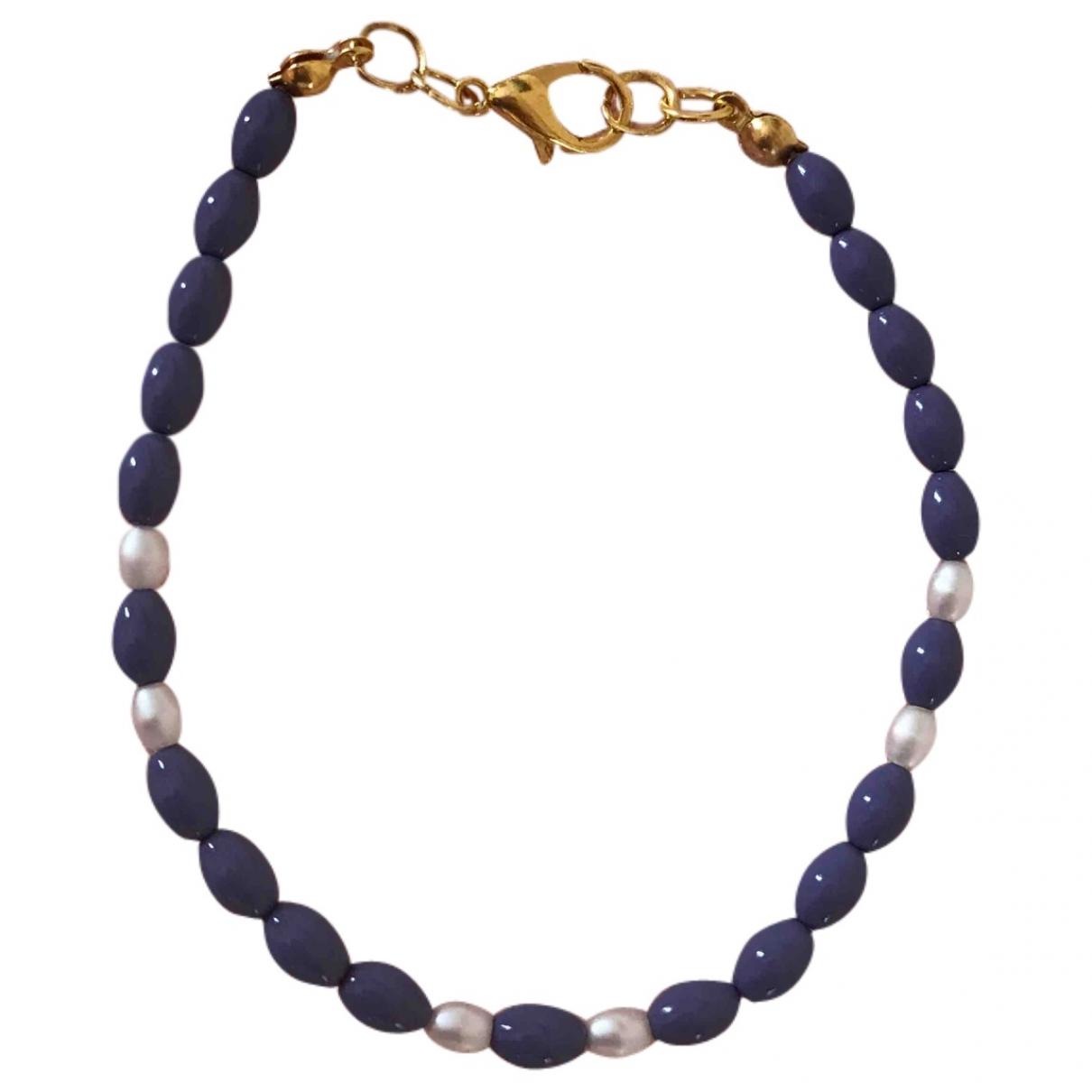 Non Signé / Unsigned \N Purple Metal bracelet for Women \N