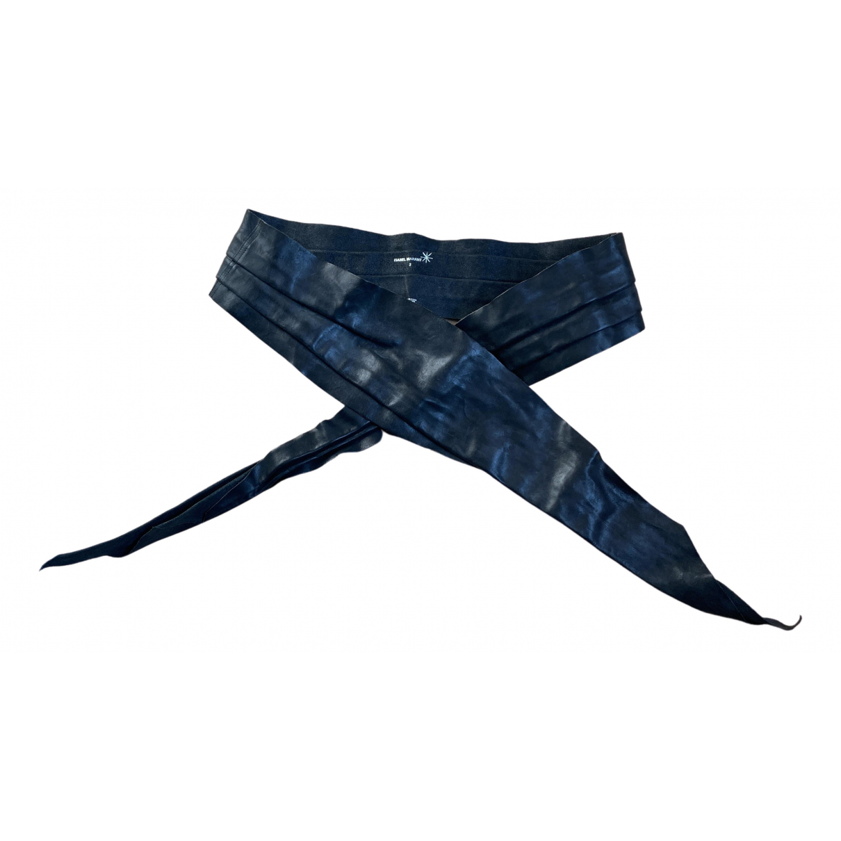Isabel Marant N Black Leather belt for Women S International