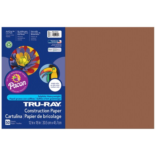 Tru-Ray® Construction Paper, 12