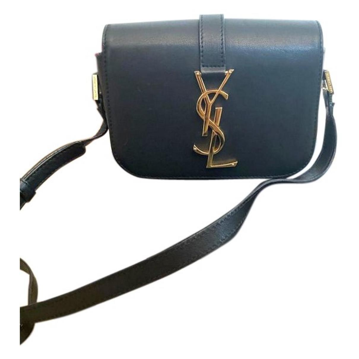 Saint Laurent Universite Handtasche in  Schwarz Leder