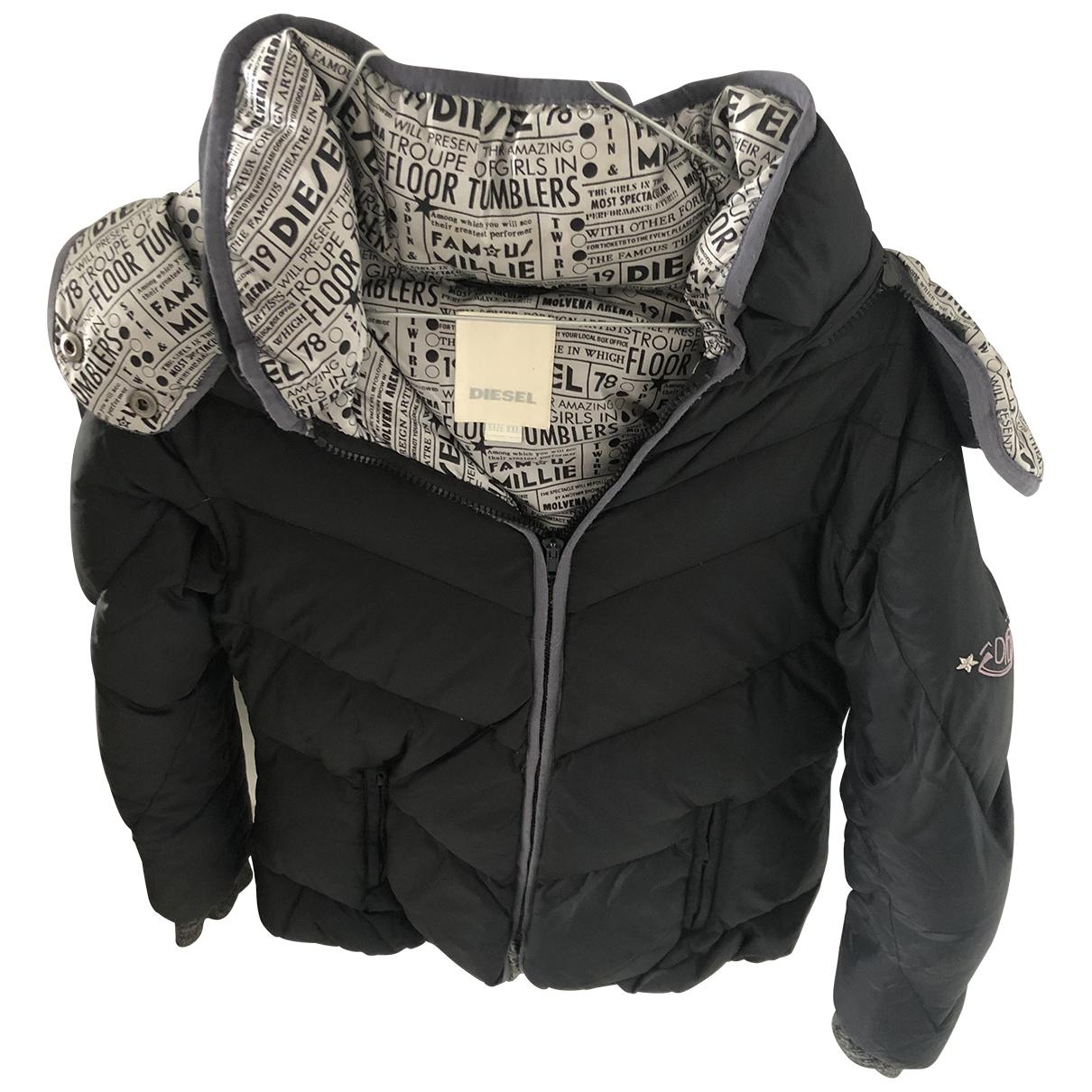 Diesel \N Black jacket & coat for Kids 20 years - XL FR