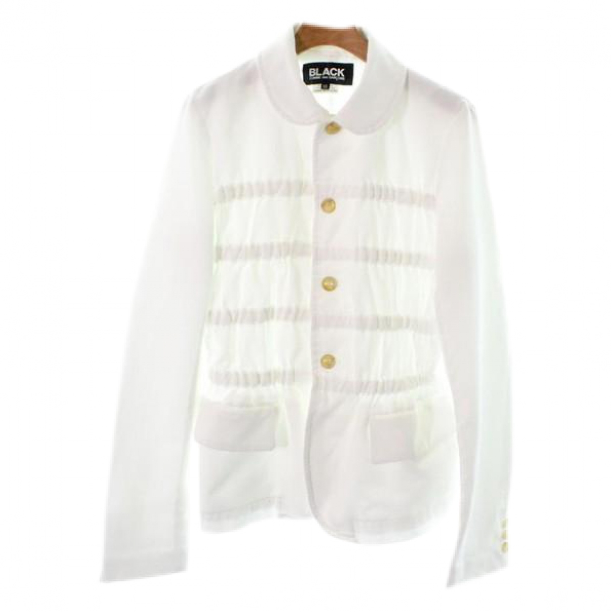 Comme Des Garcons \N Jacke in  Weiss Synthetik