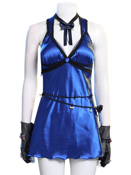 Milanoo Final Fantasy VII Remake FF7 Tifa Lockhart Mature Dress Outfit Cosplay Costume