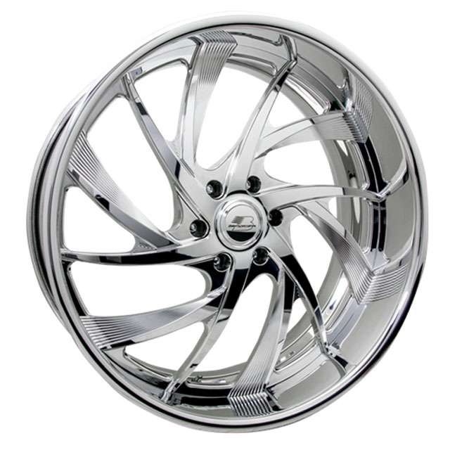 Billet Specialties DT68266Custom BLVD 68 Wheels 26x16