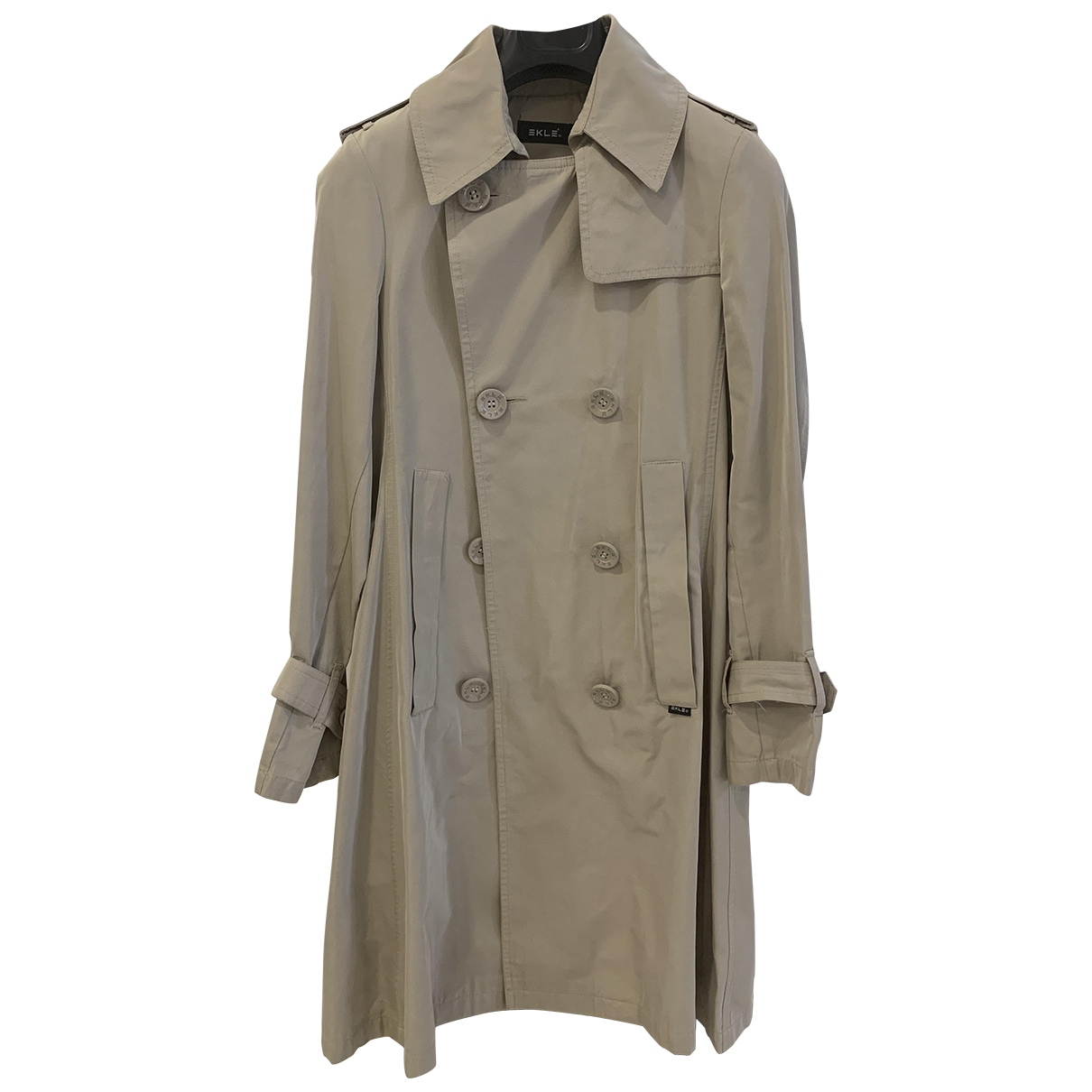Non Signé / Unsigned \N Beige Trench coat for Women 40 IT