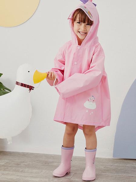 Milanoo Kid\'s Rain Poncho Dinosaur Halloween Cosplay Costume