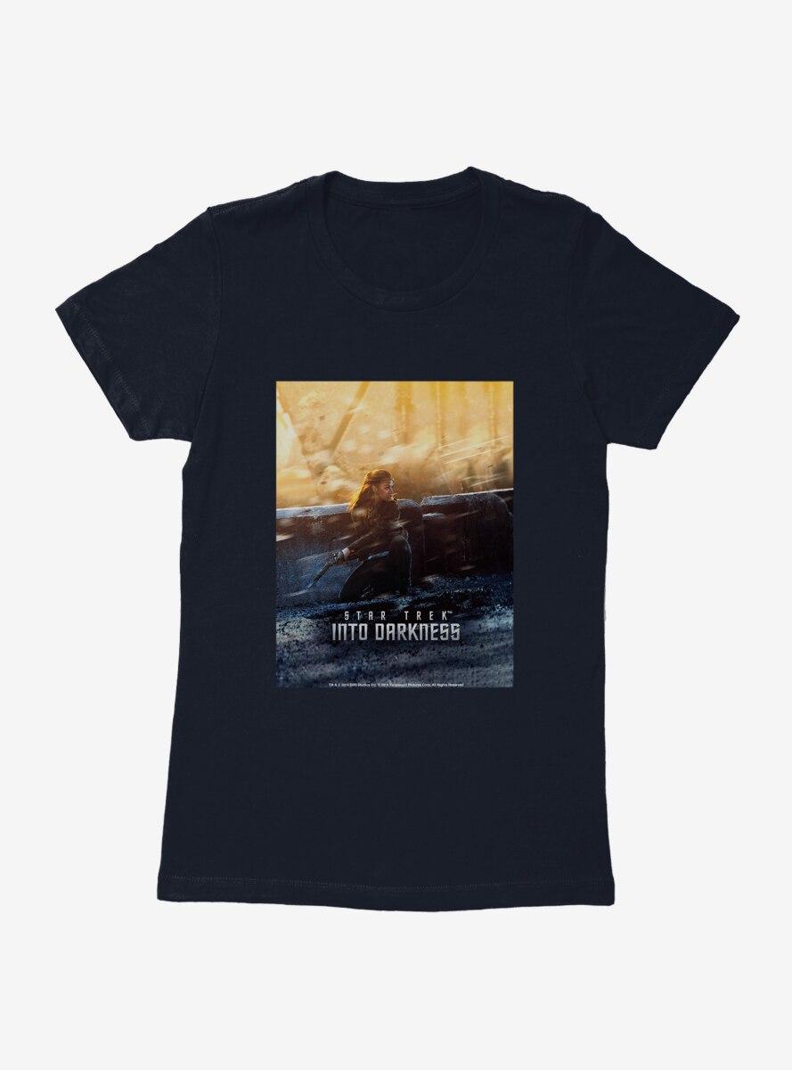 Star Trek Into Darkness Uhura Poster Womens T-Shirt