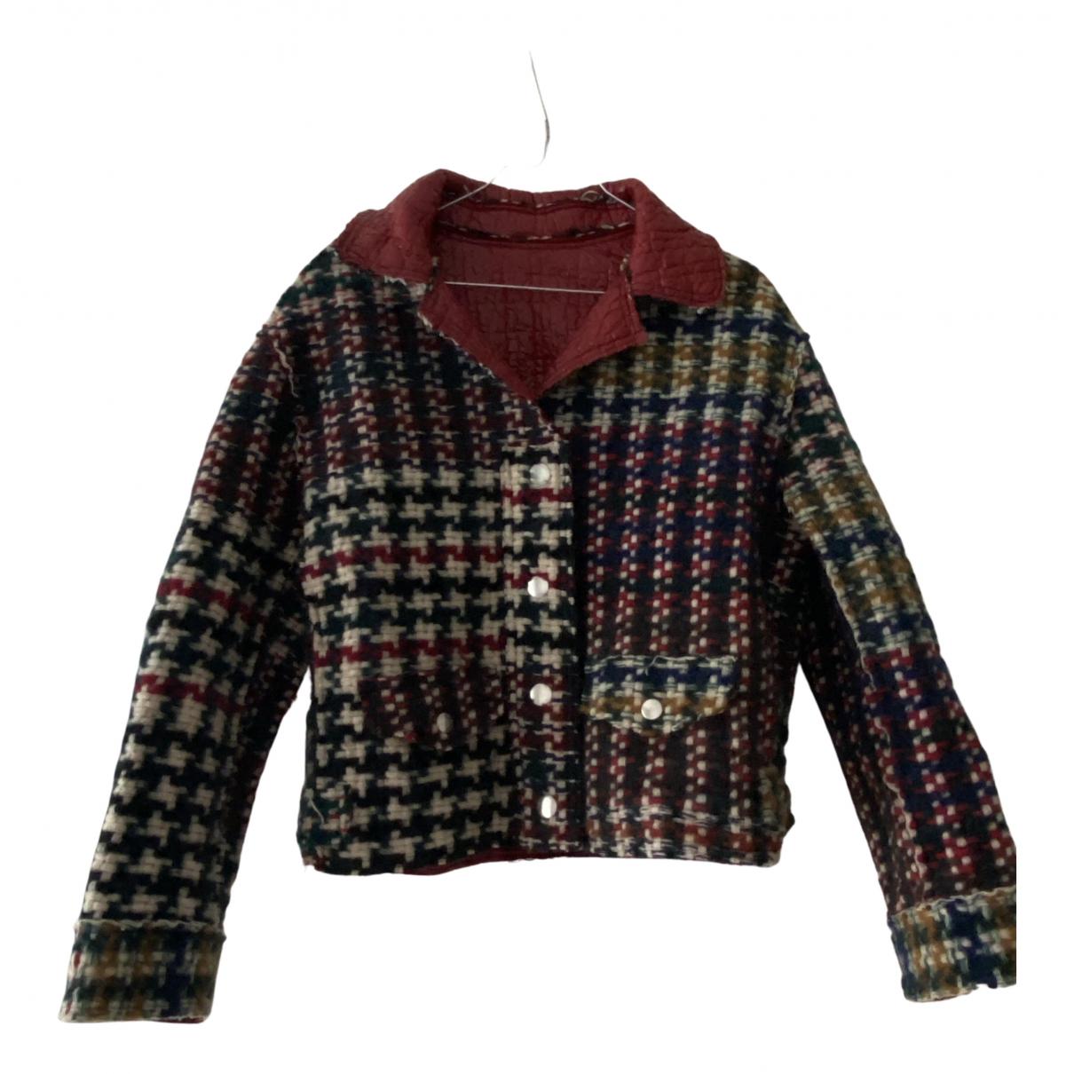 Isabel Marant \N Jacke in  Rot Tweed