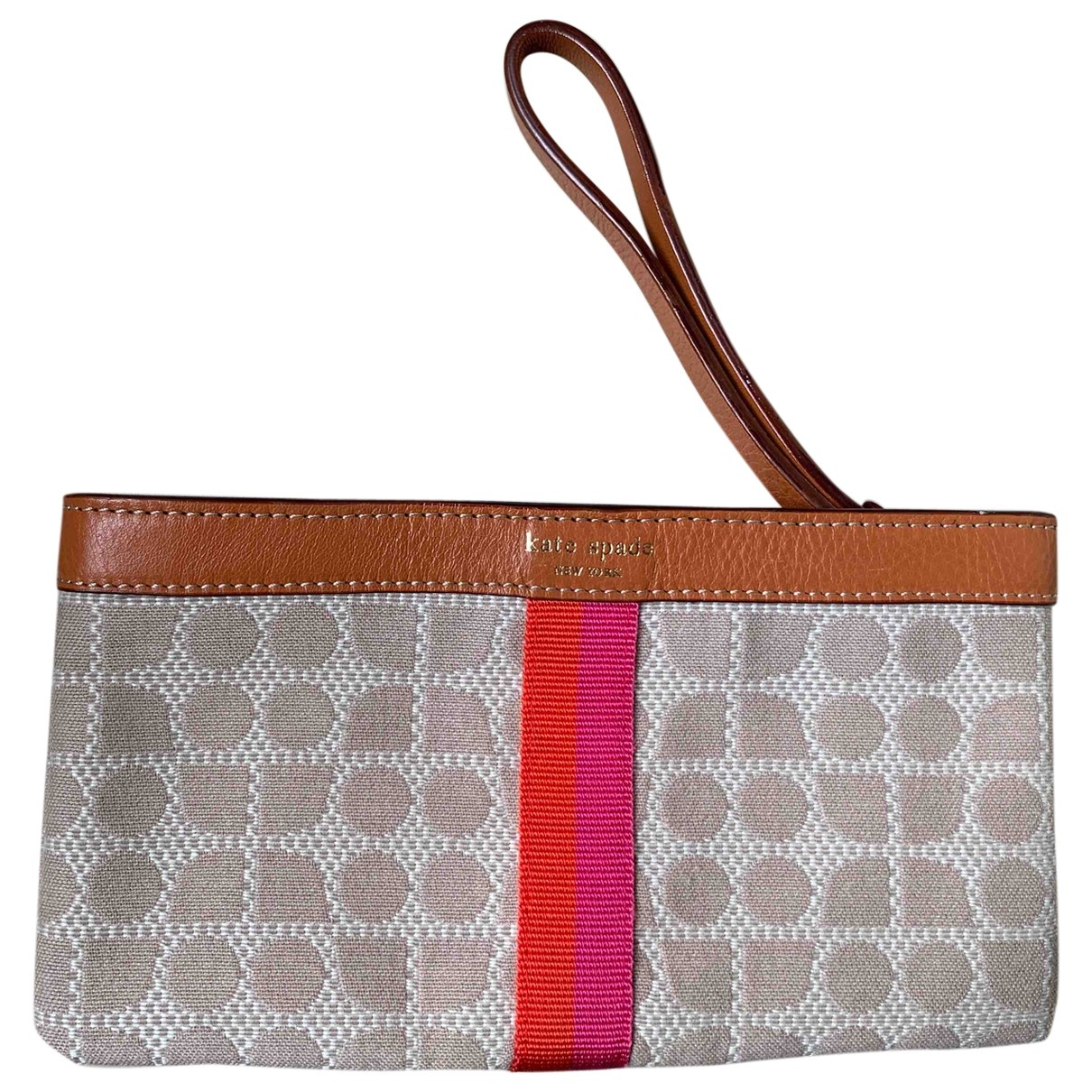 Kate Spade \N Brown Cloth Clutch bag for Women \N