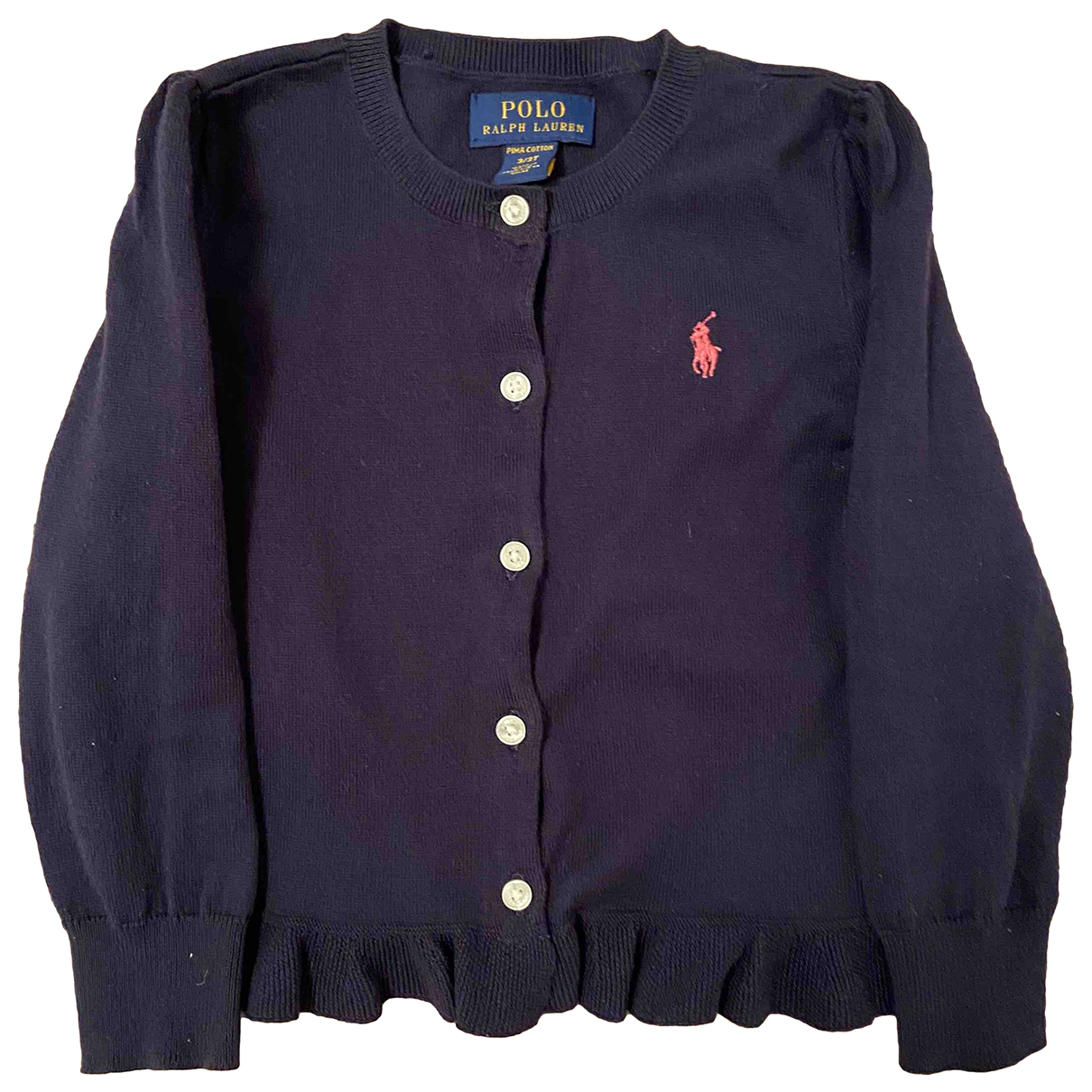 Ralph Lauren N Blue Cotton Knitwear for Kids 3 years - up to 98cm FR