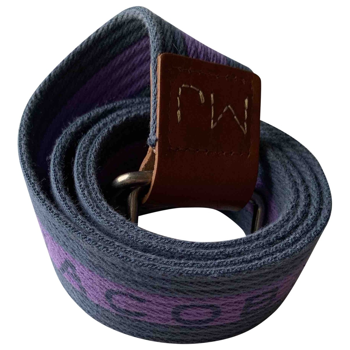 Marc By Marc Jacobs \N Blue Cloth belt for Men 90 cm