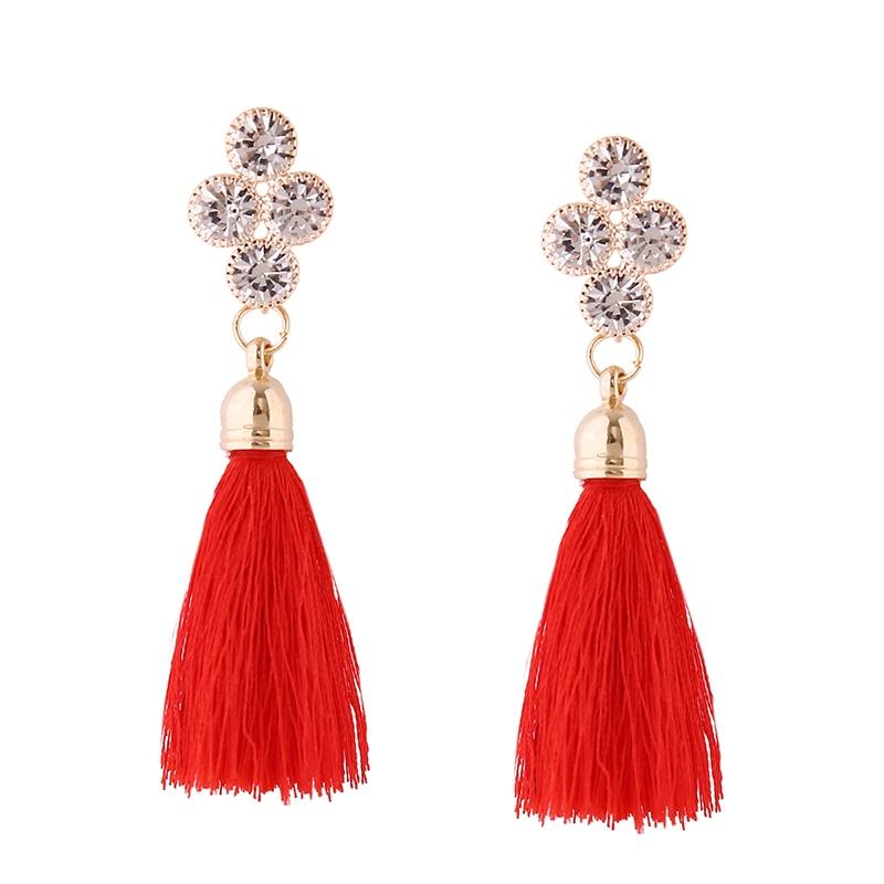 Ericdress Fashionable Women's Tassel Drop Earring