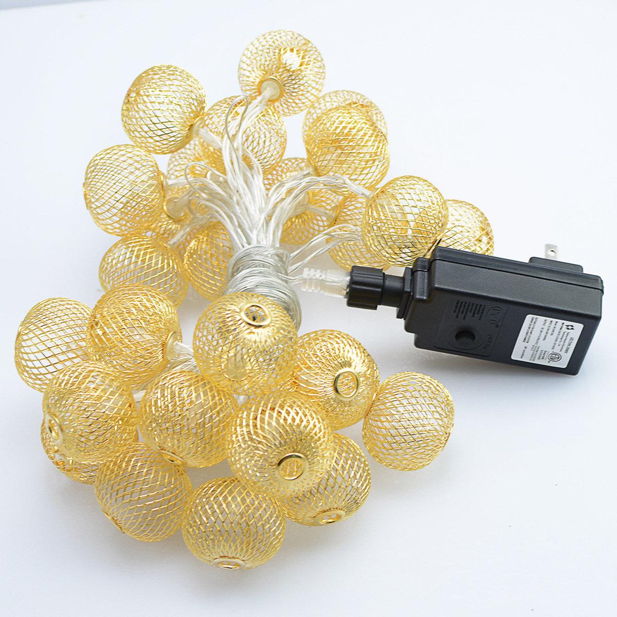KCASA SSL-6 Gardening 4.8M 20LED Solar Panel Light Lantern Holiday Christmas Wedding Decoration
