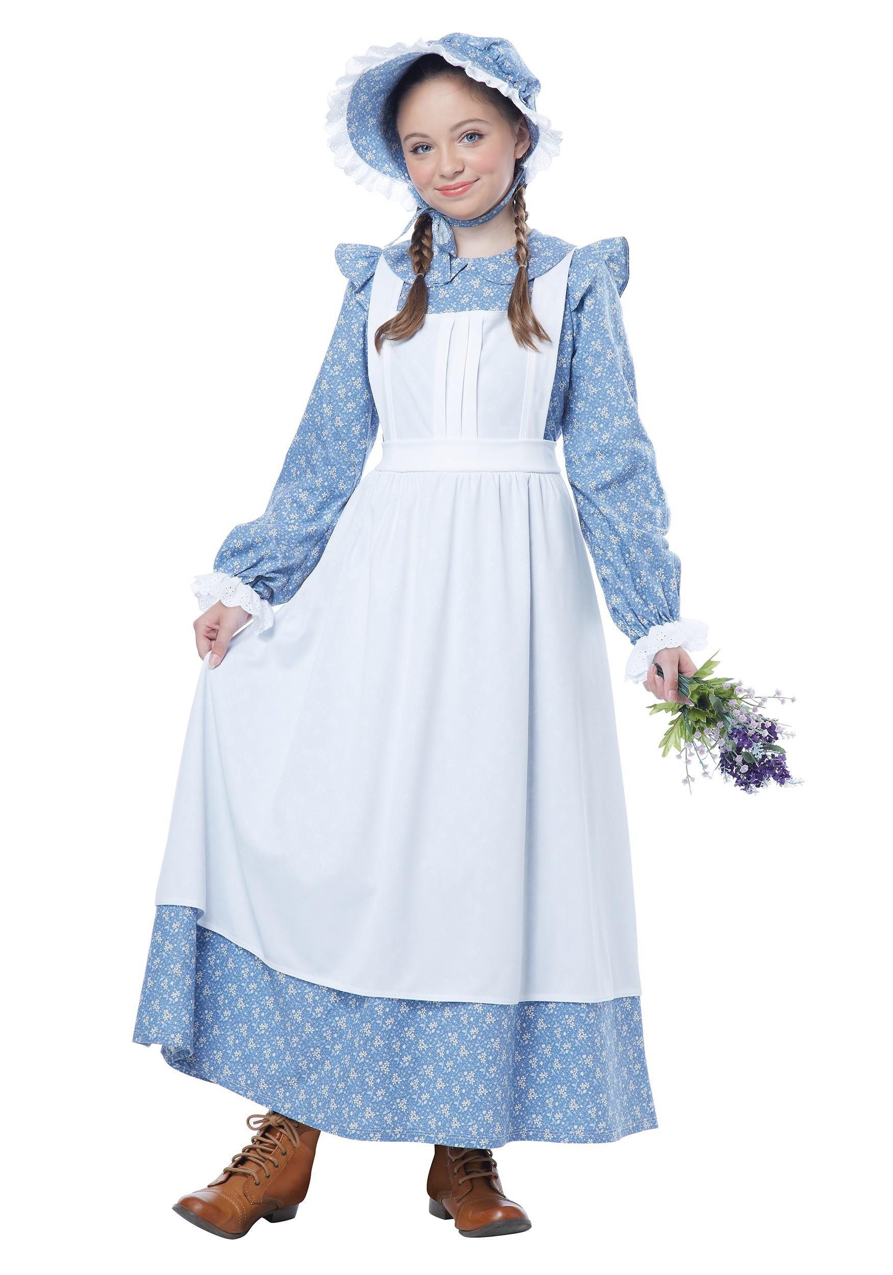 Pioneer Girl Costume for Kids | Historical Costume
