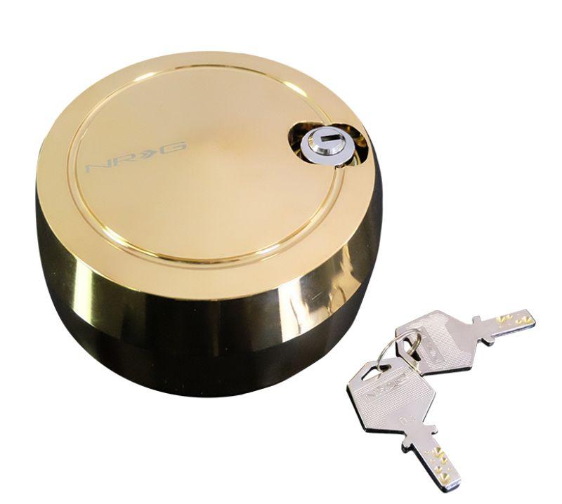 NRG SRK-201C/GD Quick Lock Lock Spinner Chrome Gold