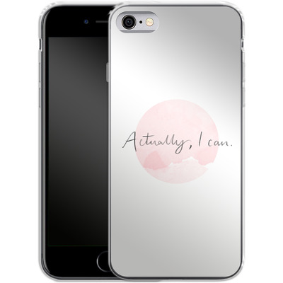 Apple iPhone 6 Silikon Handyhuelle - Actually, I can von caseable Designs