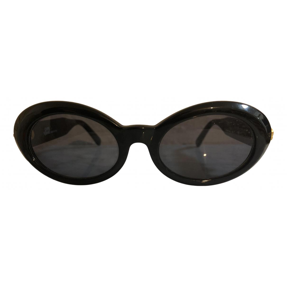 Gianni Versace \N Sonnenbrillen in  Schwarz Kunststoff