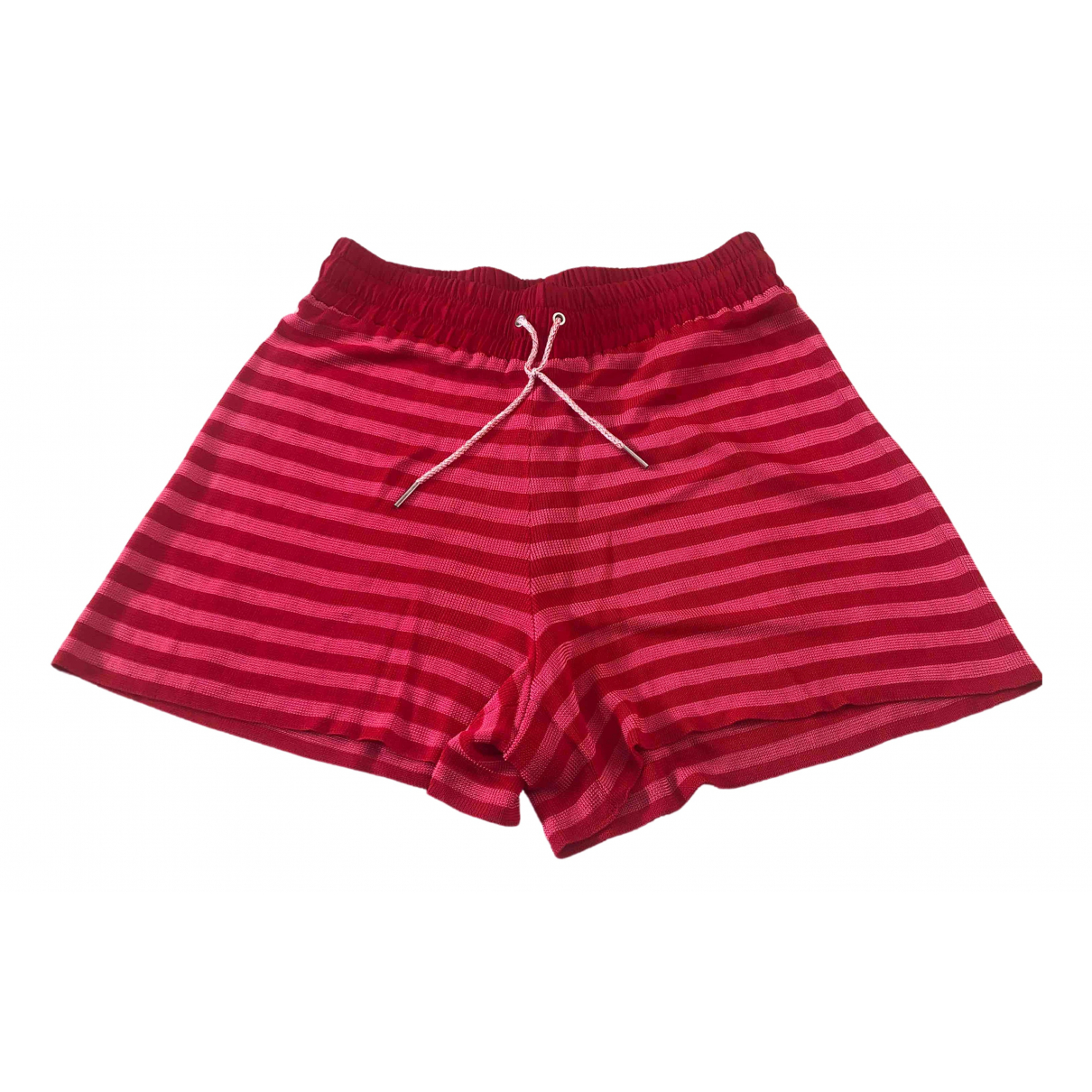 Sandro \N Red Shorts for Women 1 0-5