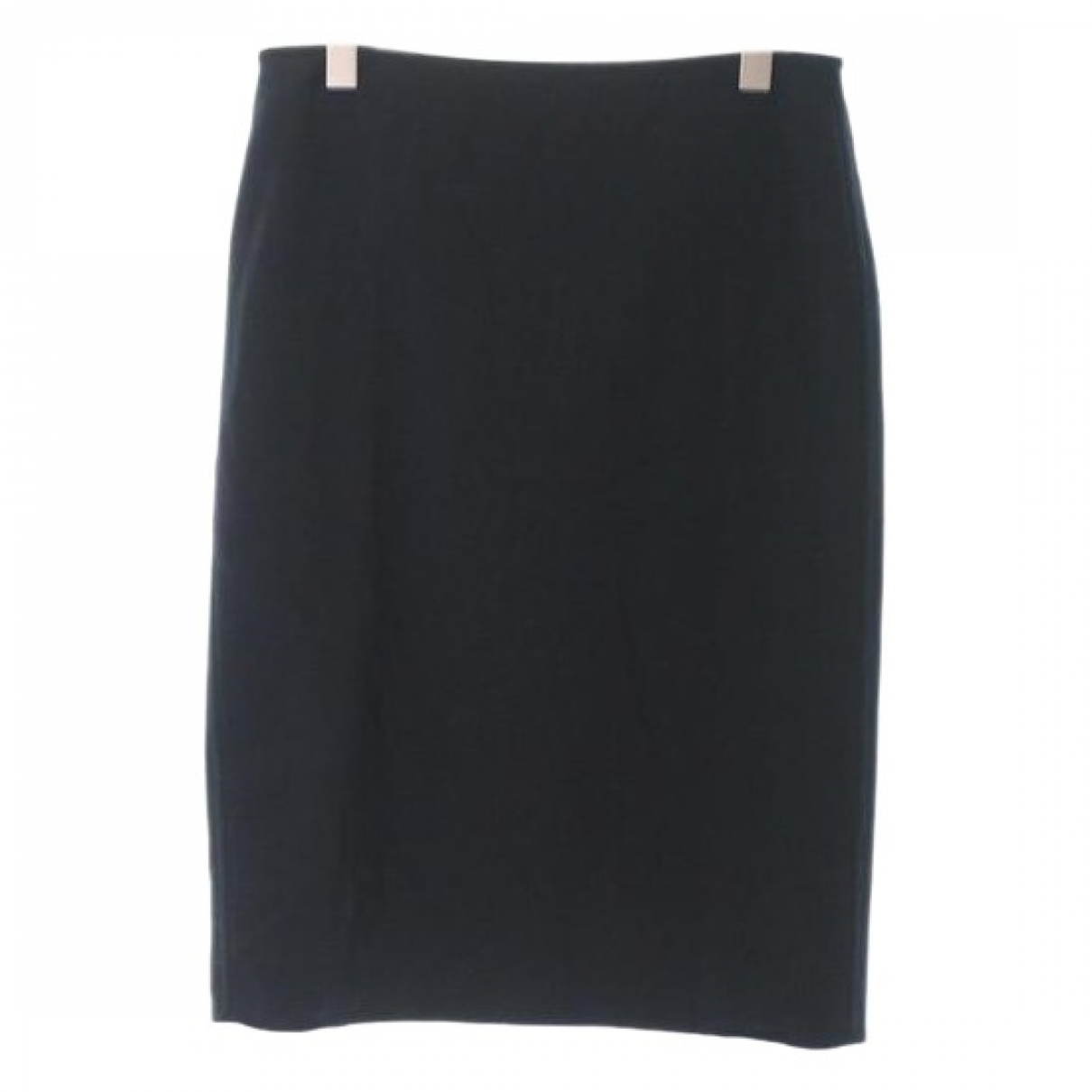 Hermès \N Navy Wool skirt for Women 42 FR