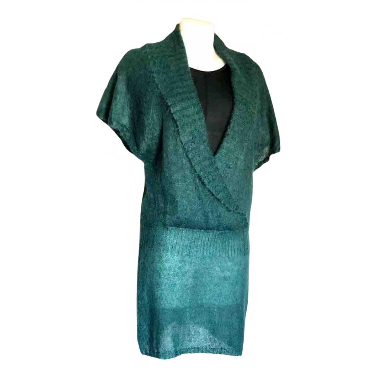 Cycle N Green Wool dress for Women M International