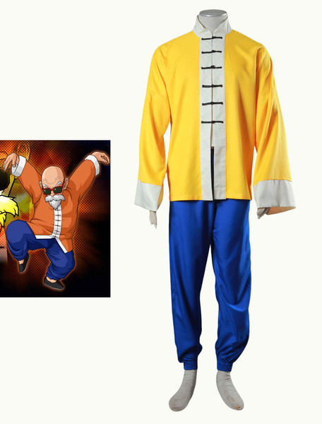 Milanoo Halloween Dragon Ball Kame Sennin Halloween Cosplay Costume
