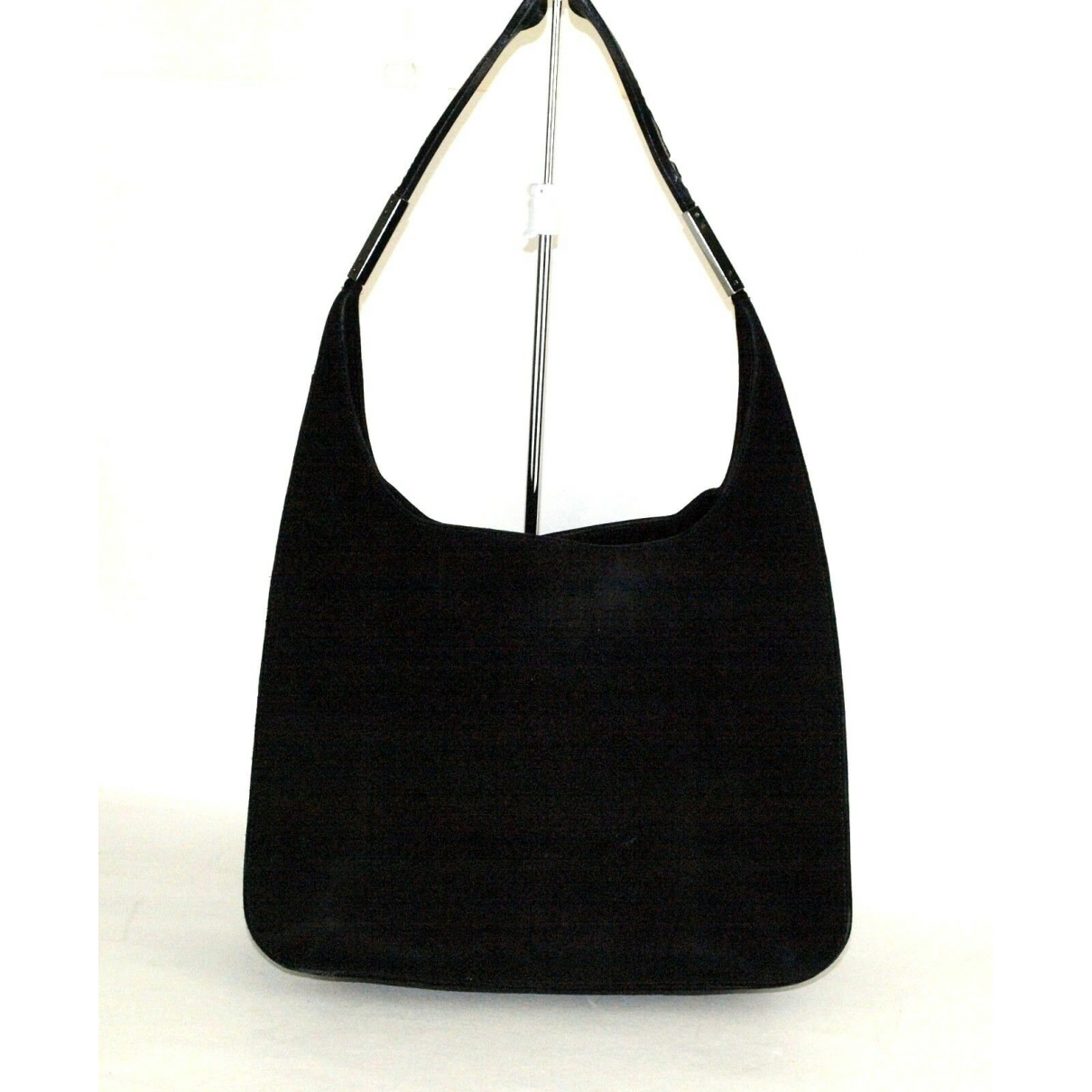 Gucci Hobo Handtasche in  Schwarz Leder