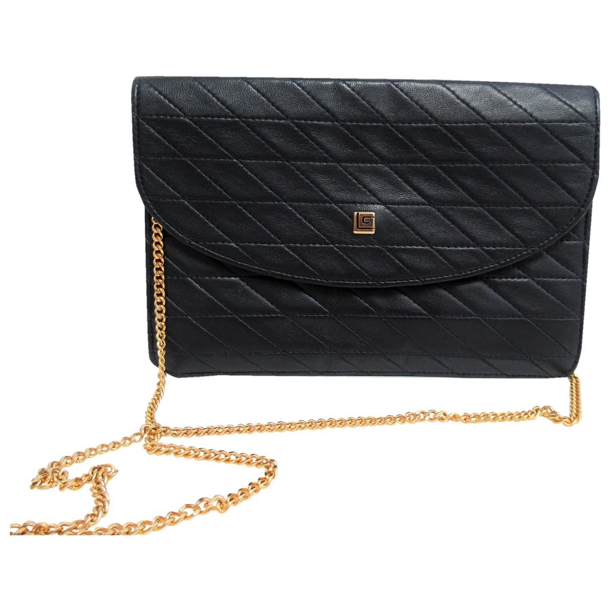 Guy Laroche \N Blue Leather handbag for Women \N