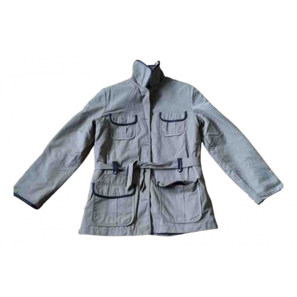 Burberry - Blousons.Manteaux   pour enfant en coton - camel