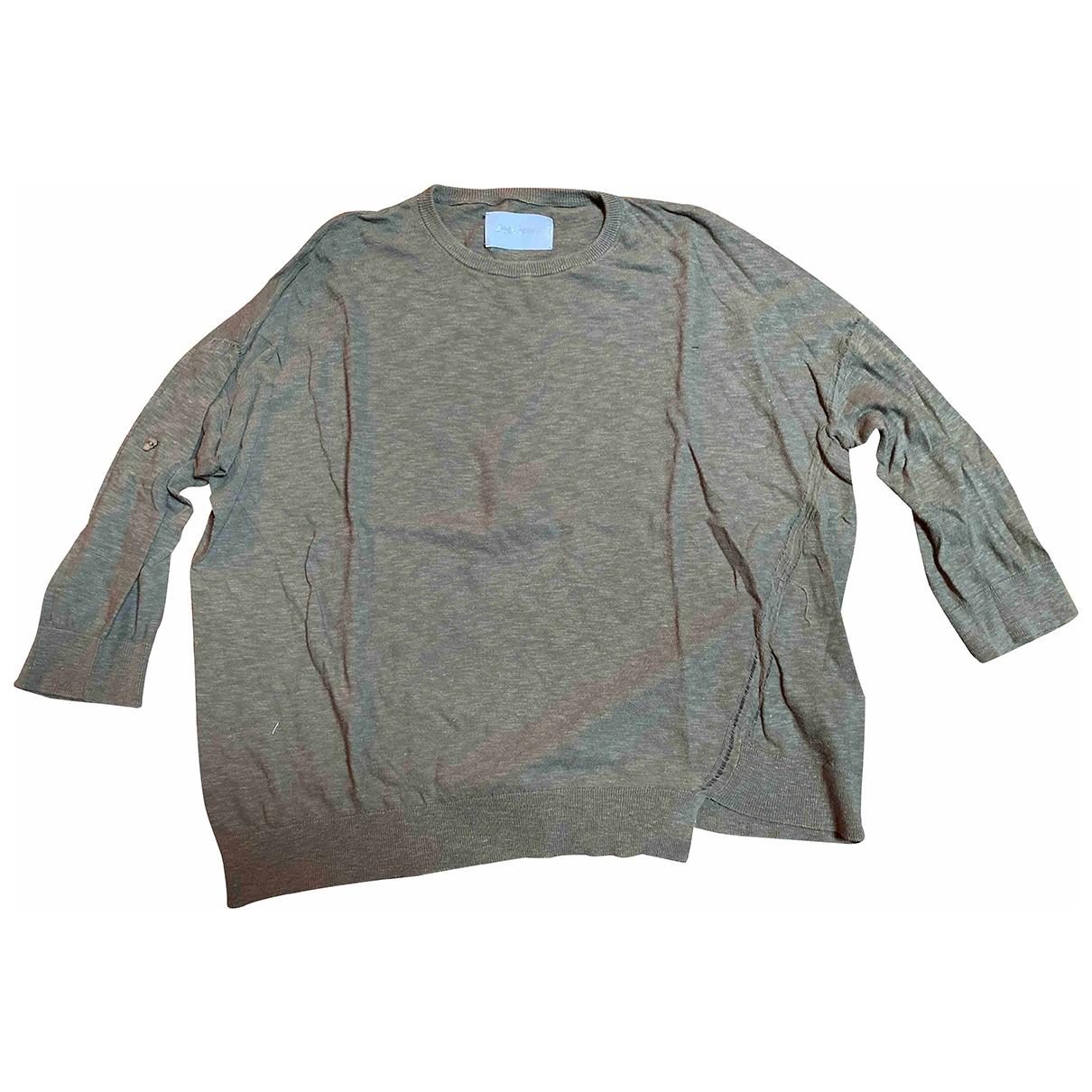 Zadig & Voltaire \N Pullover in  Khaki Baumwolle