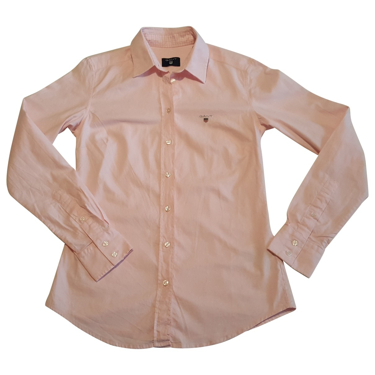 Gant Rugger \N Pink Cotton  top for Women S International