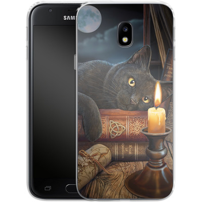 Samsung Galaxy J3 (2017) Silikon Handyhuelle - Witching Hour von Lisa Parker