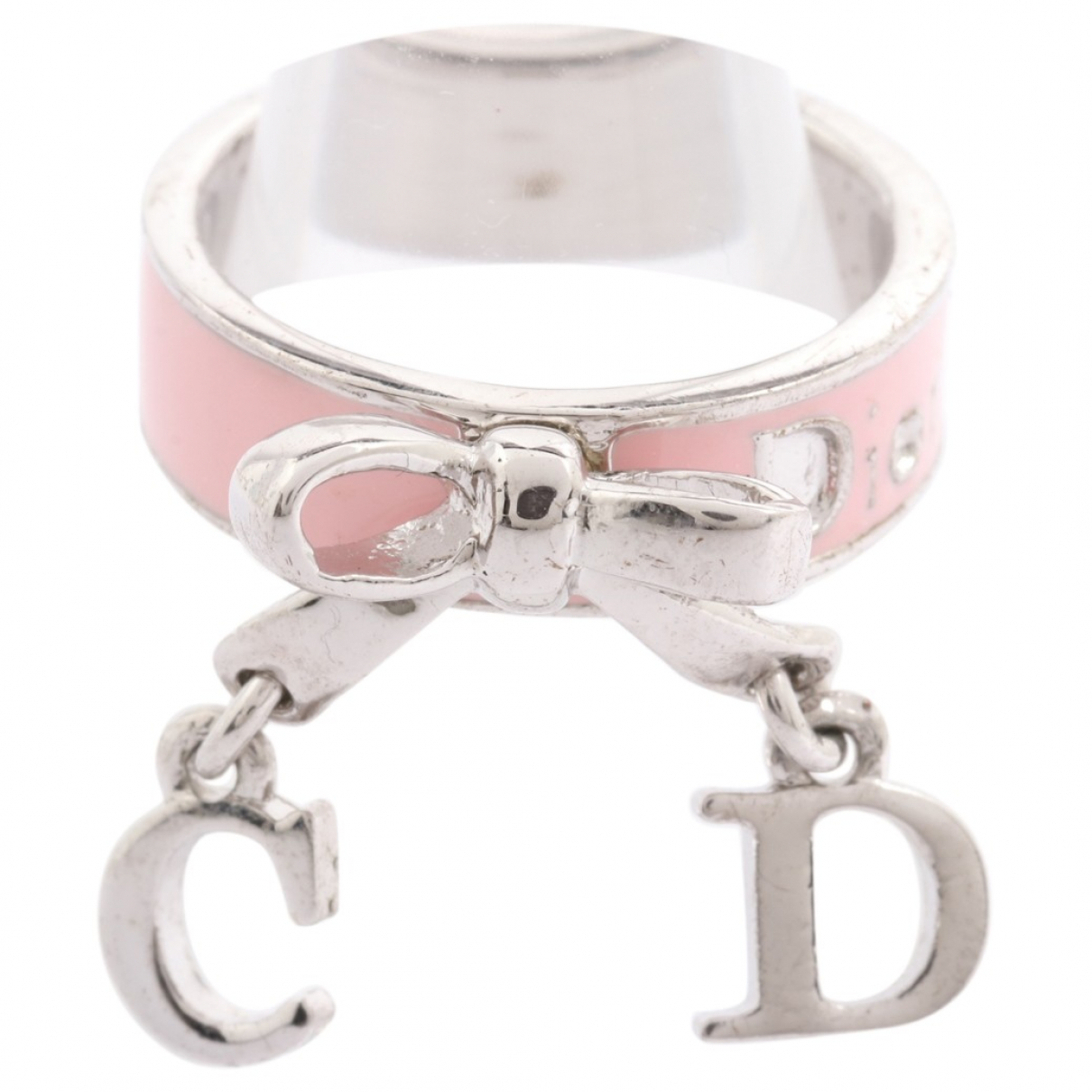 Dior \N Ring in  Rosa Metall