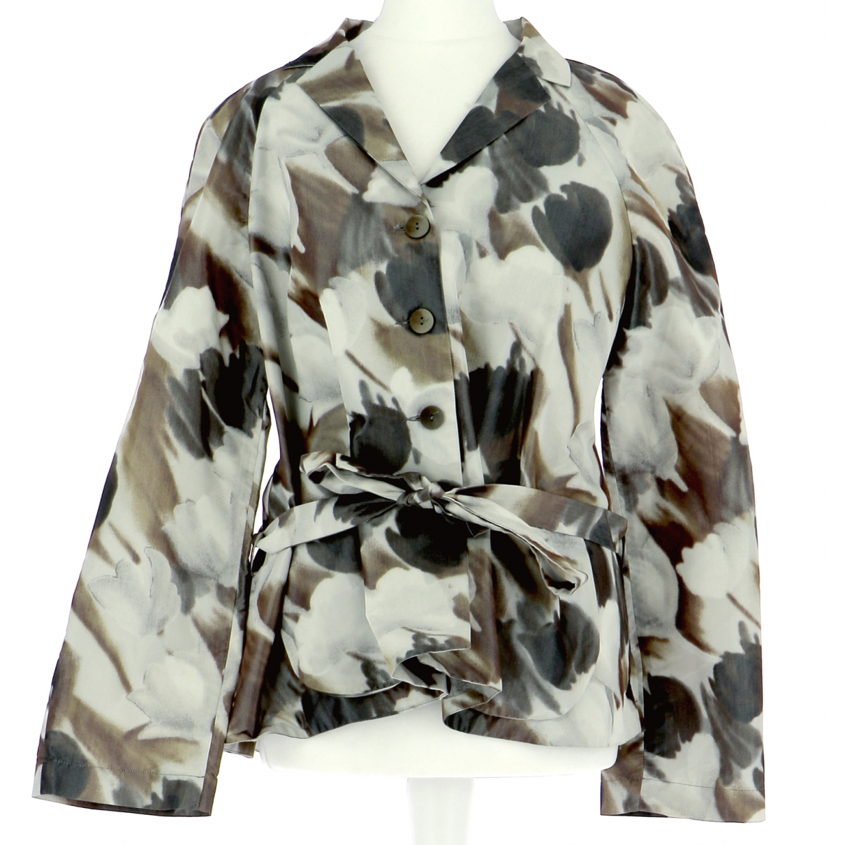 Autre Marque N Multicolour Cotton jacket for Women 38 FR
