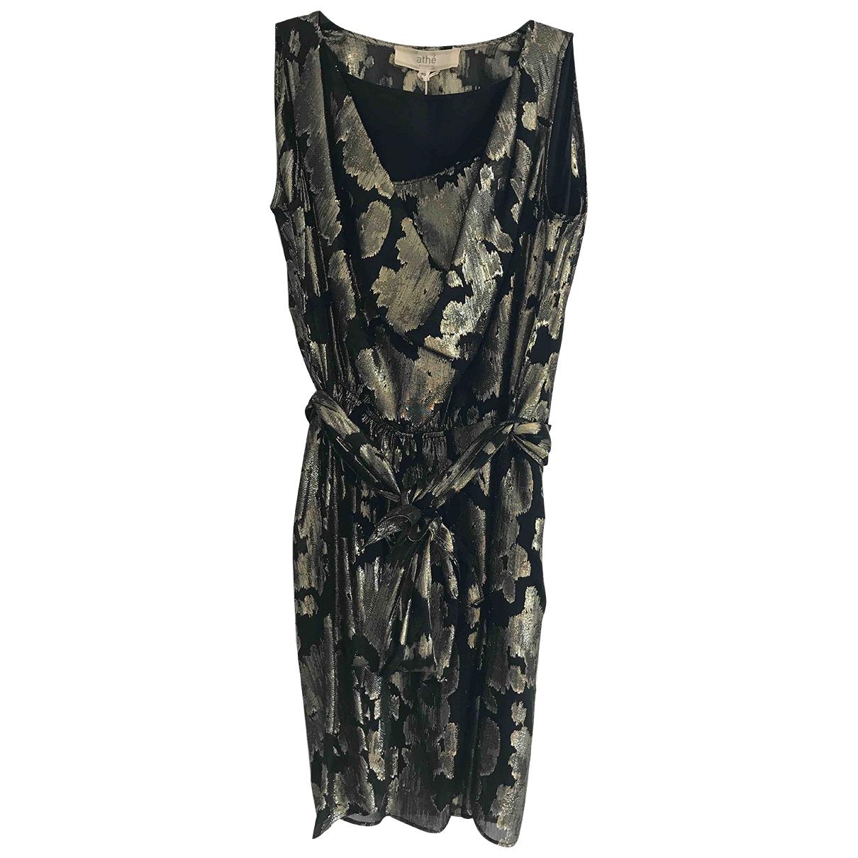 Vanessa Bruno Athe - Robe   pour femme en soie - noir