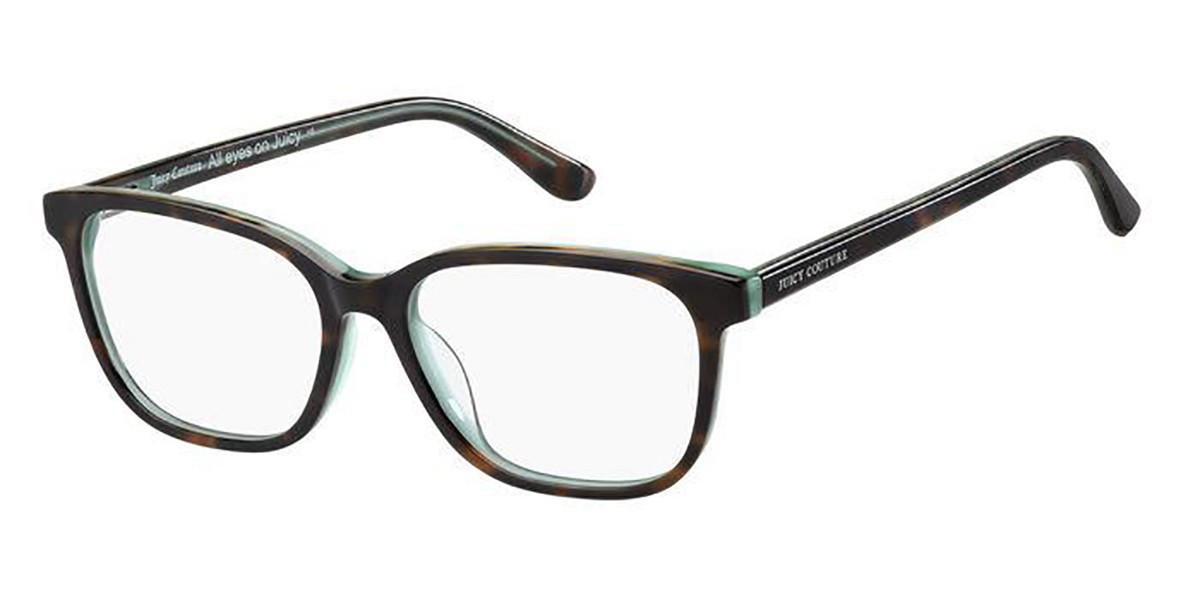 Juicy Couture JU 213 086 Women's Glasses Tortoise Size 51 - Free Lenses - HSA/FSA Insurance - Blue Light Block Available