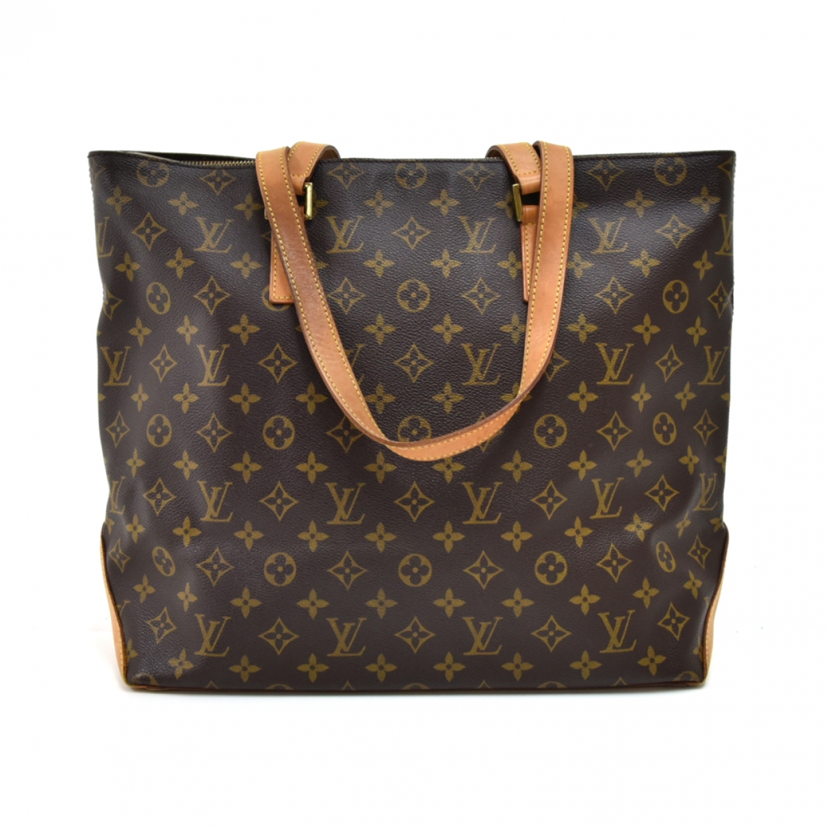 Louis Vuitton Mezzo  Brown Cloth handbag for Women \N