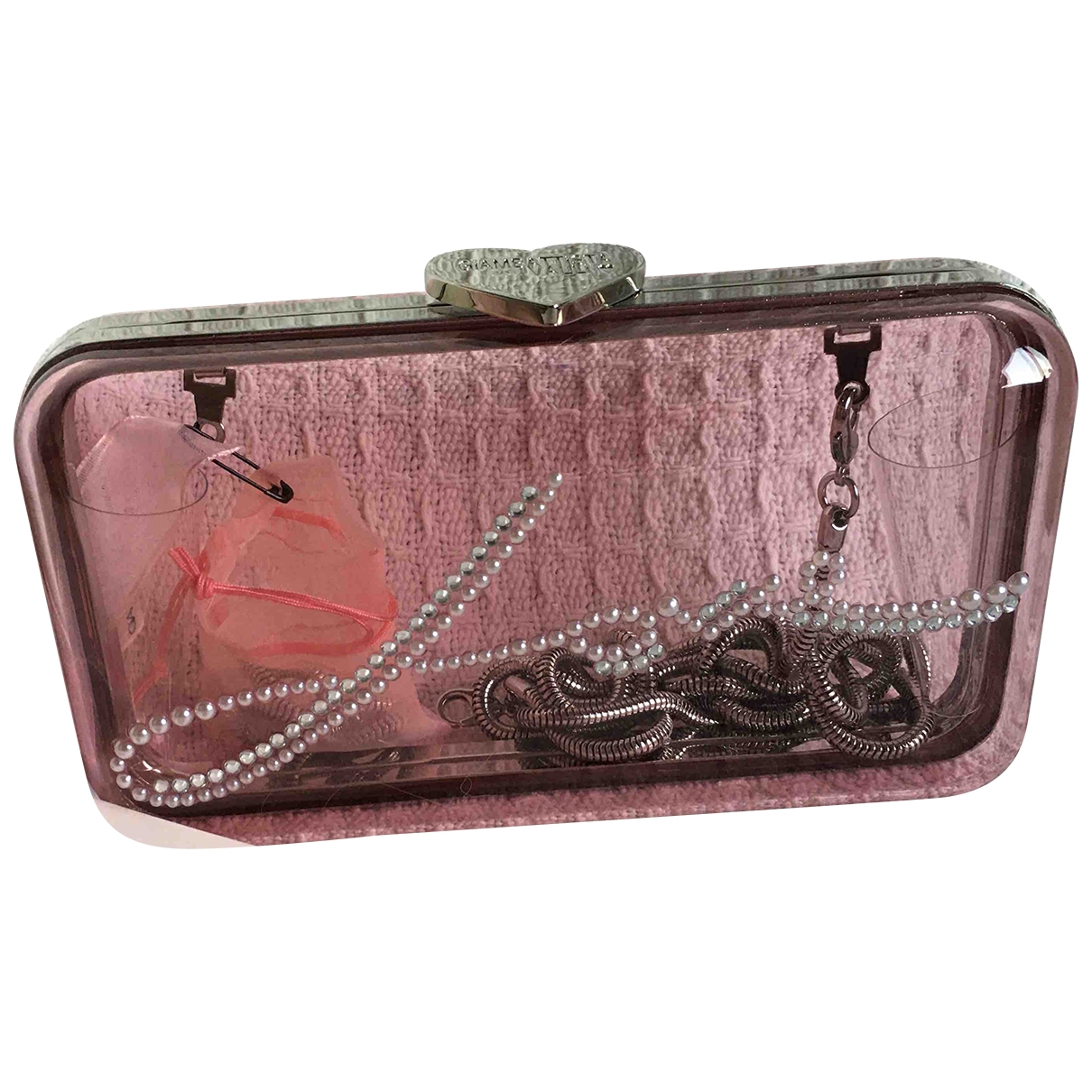 Giambattista Valli X H&m \N Pink handbag for Women \N