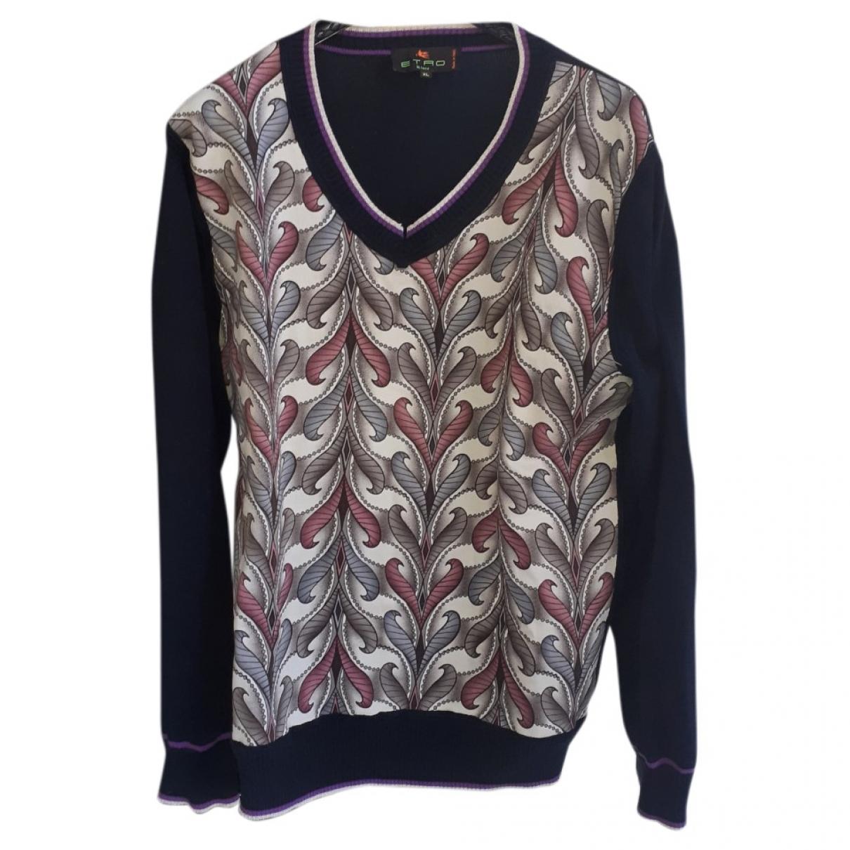 Etro \N Pullover.Westen.Sweatshirts  in  Bunt Baumwolle