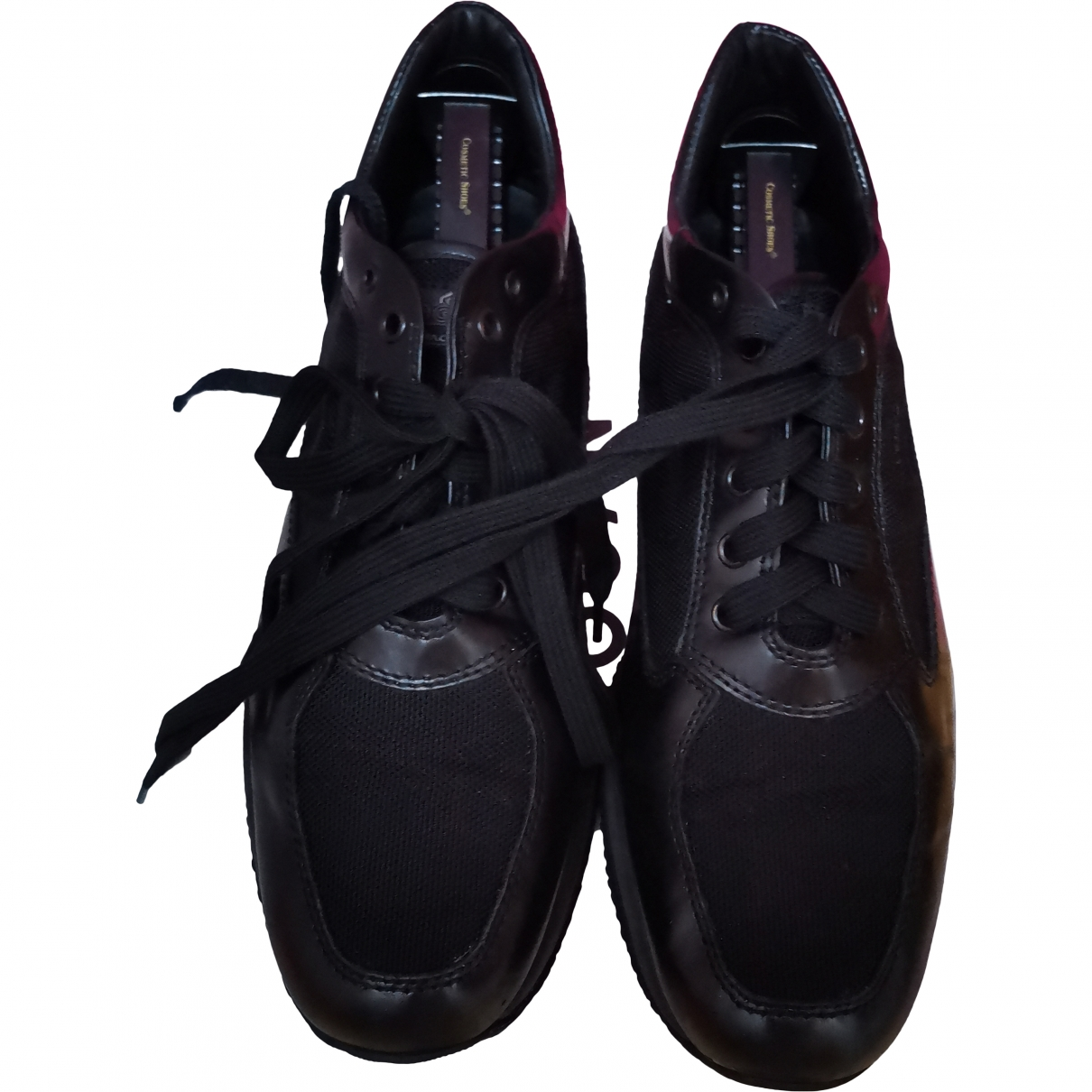 Hogan \N Black Leather Trainers for Men 8 US