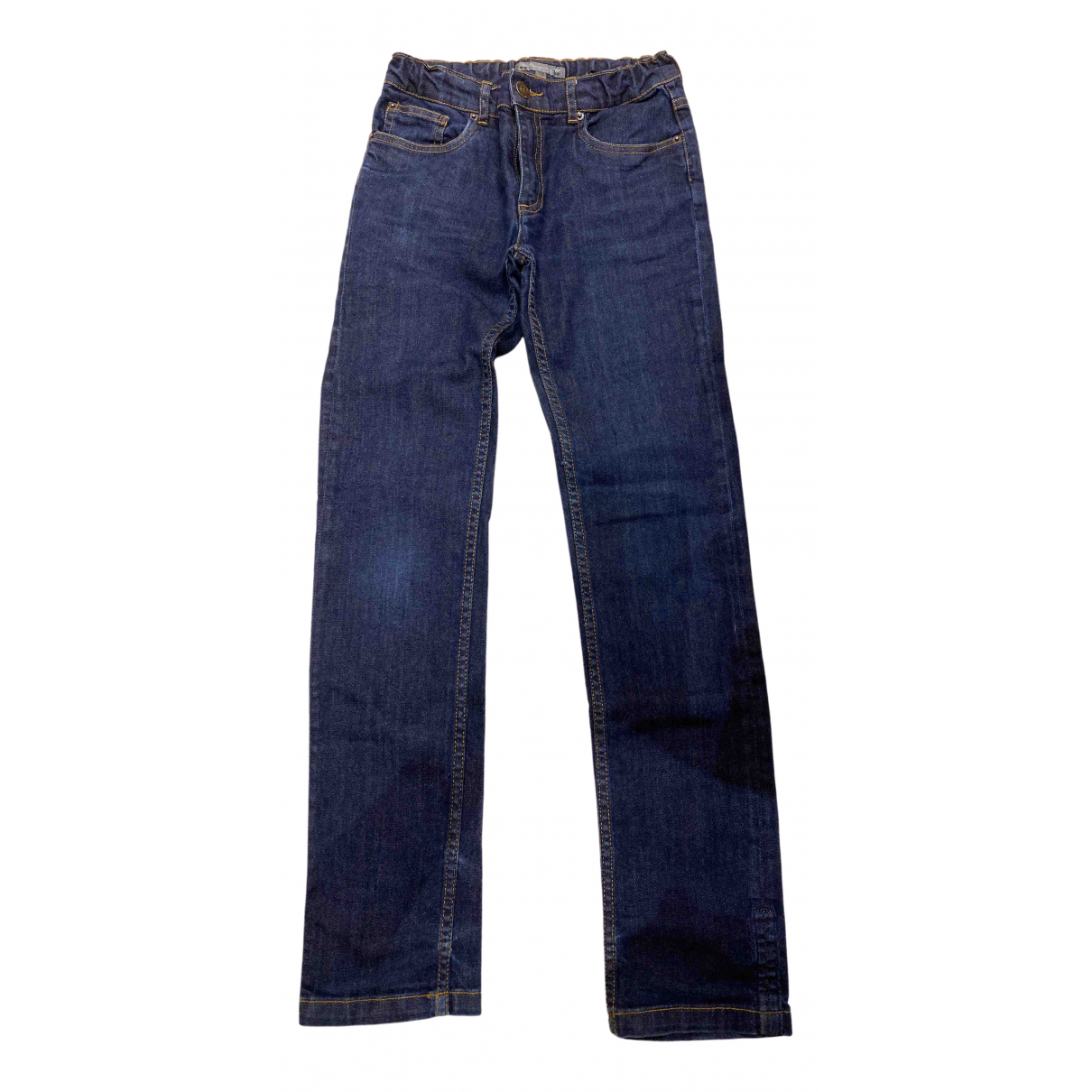 Bonpoint \N Blue Cotton Trousers for Kids 12 years - XS FR