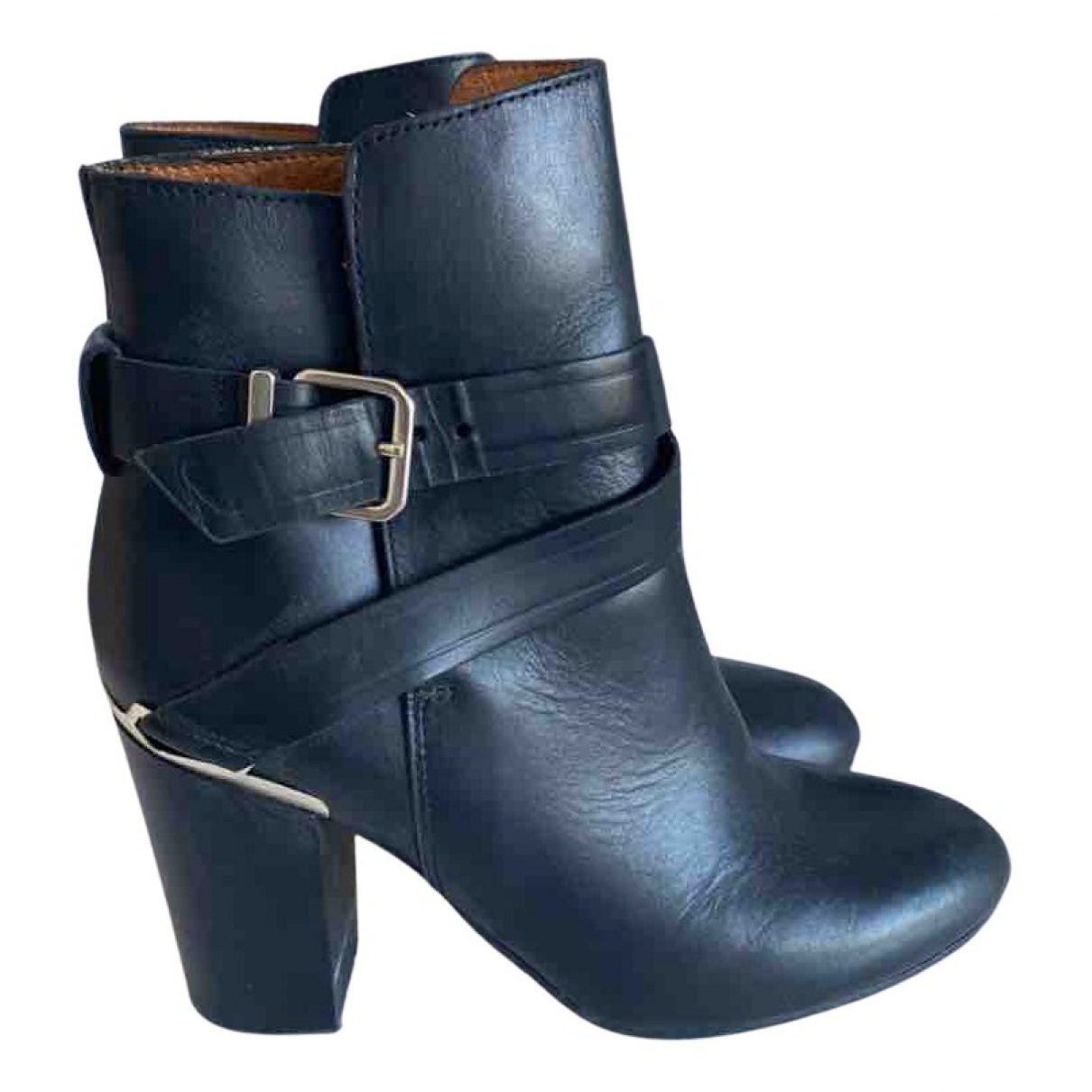 & Stories N Black Leather Boots for Women 36 EU