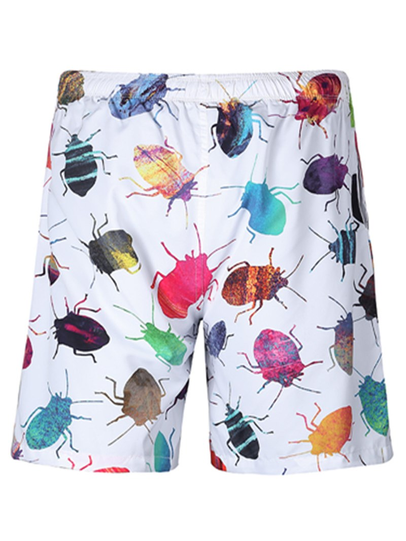 Ericdress Animal Loose Mens Beach Shorts