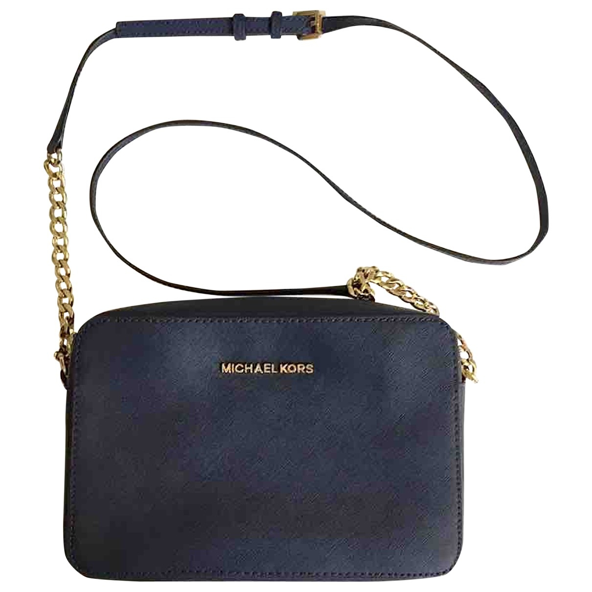 Michael Kors \N Handtasche in  Blau Leder