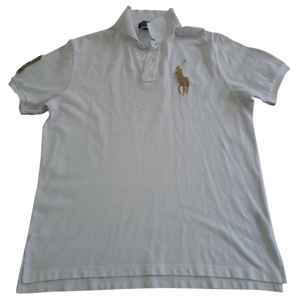 Polo Ralph Lauren Polo cintré manches courtes White Cotton Polo shirts for Men XL International