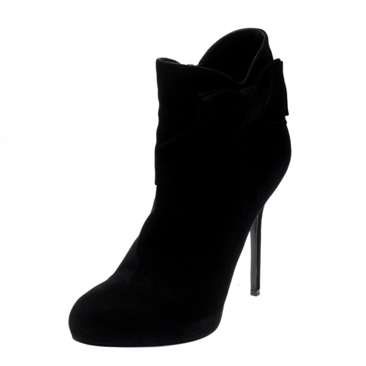 Dior \N Black Suede Ankle boots for Women 9 US